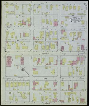 Primary view of object titled 'Brownsville 1914 Sheet 6'.