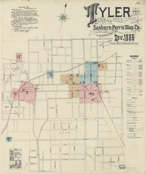Primary view of object titled 'Tyler 1889 Sheet 1'.