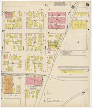 Primary view of object titled 'Fort Worth 1911 Sheet 110'.