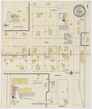 Primary view of object titled 'Detroit 1911 Sheet 1'.