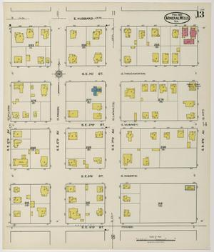 Primary view of object titled 'Mineral Wells 1921 Sheet 13'.