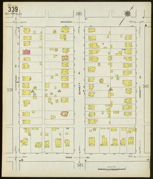 Primary view of object titled 'Dallas 1922 Sheet 339'.