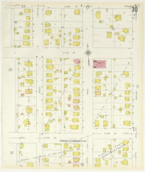 Primary view of object titled 'Abilene 1929 Sheet 30'.