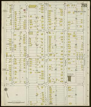 Primary view of object titled 'Dallas 1921 Sheet 290'.