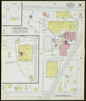 Primary view of object titled 'Brenham 1912 Sheet 9'.