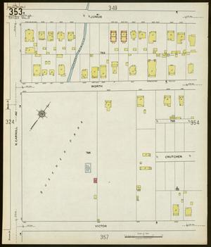 Primary view of object titled 'Dallas 1922 Sheet 353'.