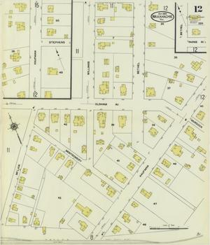 Primary view of object titled 'Waxahachie 1909 Sheet 12'.