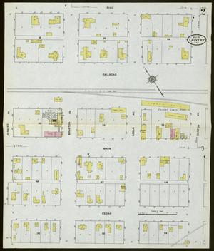 Primary view of object titled 'Calvert 1911 Sheet 2'.