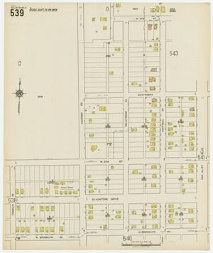 Primary view of object titled 'Dallas 1922 Sheet 539'.