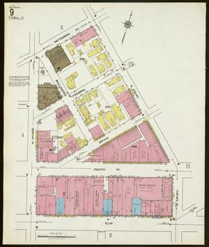 Primary view of object titled 'Dallas 1921 Sheet 9'.