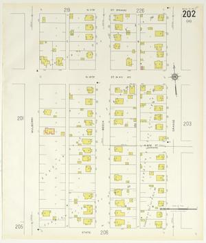 Primary view of object titled 'Abilene 1929 Sheet 202'.