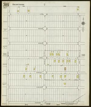 Primary view of object titled 'Dallas 1922 Sheet 389'.