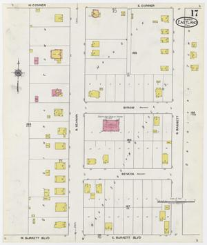 Primary view of object titled 'Eastland 1920 Sheet 17'.