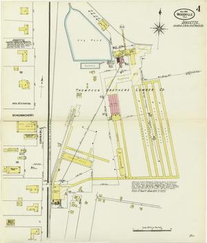 Primary view of object titled 'Woodville 1909 Sheet 4'.