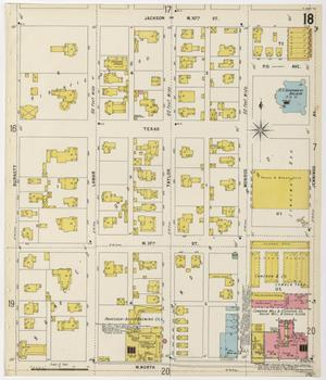 Primary view of object titled 'Fort Worth 1898 Sheet 18'.