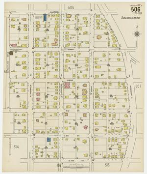 Primary view of Dallas 1922 Sheet 506