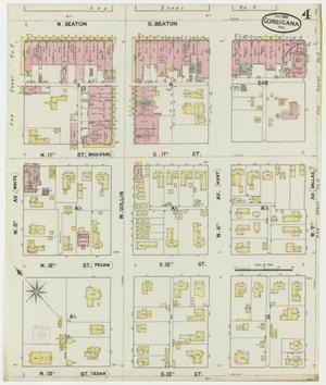 Primary view of object titled 'Corsicana 1889 Sheet 4'.