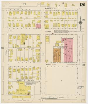Primary view of object titled 'Fort Worth 1911 Sheet 120'.