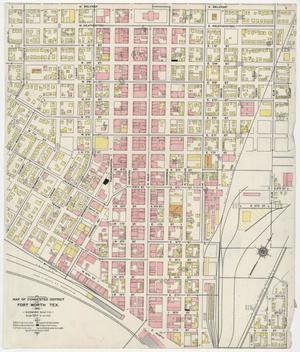 Primary view of object titled 'Fort Worth 1911 - Volume Two Congested District'.