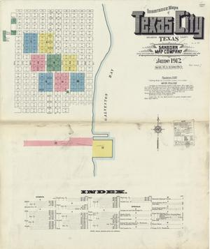 Primary view of object titled 'Texas City 1912 Sheet 1'.
