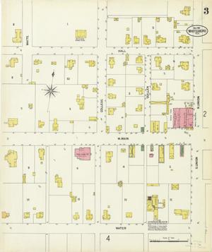 Primary view of object titled 'Whitesboro 1901 Sheet 3'.