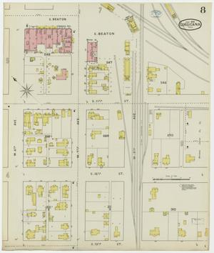 Primary view of object titled 'Corsicana 1894 Sheet 8'.