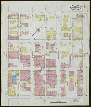 Primary view of object titled 'Brownsville 1914 Sheet 9'.