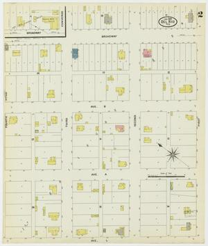 Primary view of object titled 'Del Rio 1909 Sheet 2'.