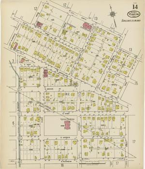 Primary view of Yoakum 1922 Sheet 14