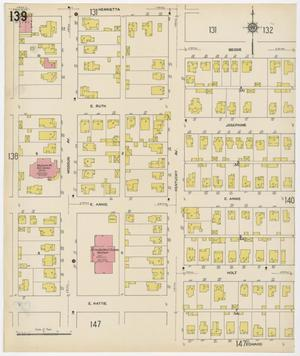 Primary view of object titled 'Fort Worth 1911 Sheet 139'.