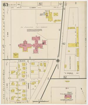 Primary view of object titled 'Fort Worth 1911 Sheet 163'.