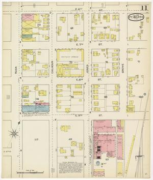 Primary view of object titled 'Fort Worth 1893 Sheet 11'.