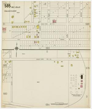 Primary view of object titled 'Dallas 1922 Sheet 585'.
