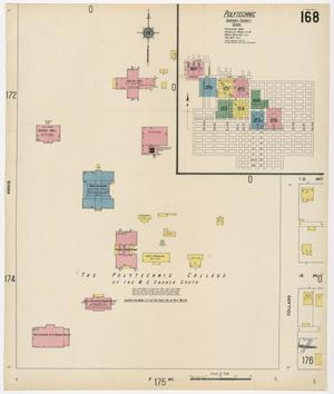 Primary view of object titled 'Fort Worth 1911 Sheet 168'.