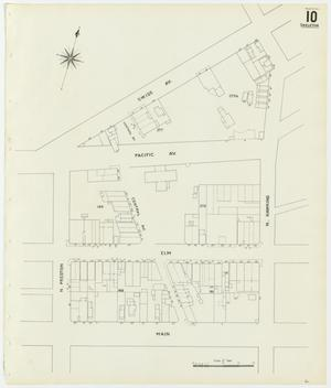 Primary view of object titled 'Dallas 1905 Sheet 10 (Skeleton Map)'.