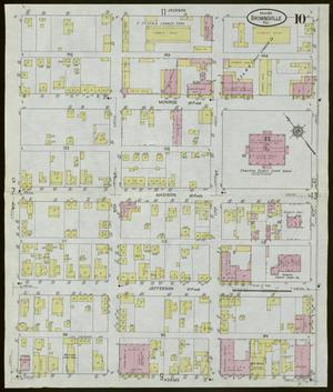 Primary view of object titled 'Brownsville 1914 Sheet 10'.