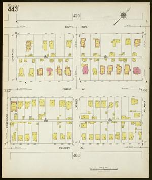 Primary view of object titled 'Dallas 1922 Sheet 443'.