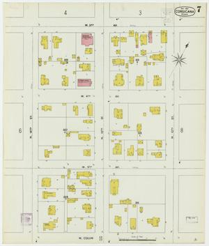 Primary view of object titled 'Corsicana 1900 Sheet 7'.