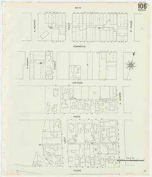 Primary view of object titled 'Dallas 1905 Sheet 106 (Skeleton Map)'.