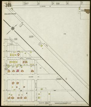 Primary view of object titled 'Dallas 1922 Sheet 399'.