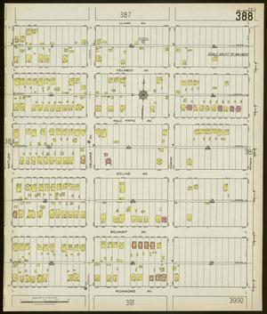Primary view of object titled 'Dallas 1922 Sheet 388'.