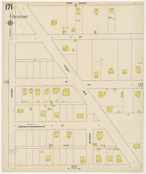 Primary view of object titled 'Fort Worth 1911 Sheet 171'.