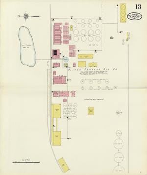 Primary view of object titled 'Texas City 1912 Sheet 13'.