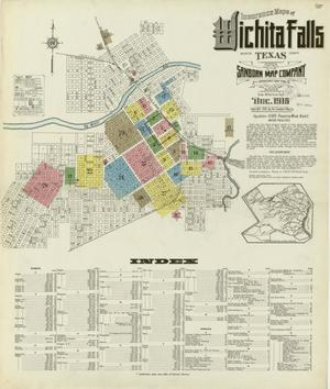 Primary view of object titled 'Wichita Falls 1915 Sheet 1'.