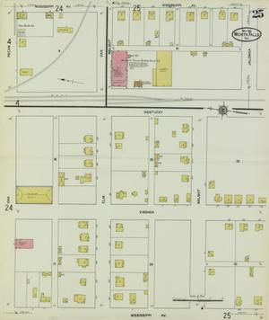 Primary view of object titled 'Wichita Falls 1912 Sheet 25'.