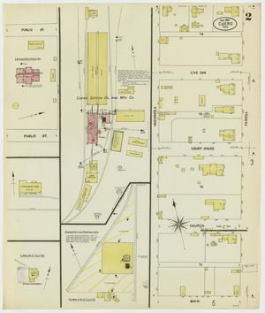 Primary view of object titled 'Cuero 1907 Sheet 2'.