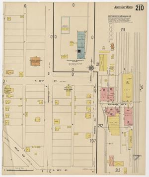 Primary view of object titled 'Fort Worth 1911 Sheet 210'.