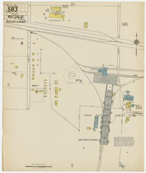 Primary view of object titled 'Dallas 1922 Sheet 583'.