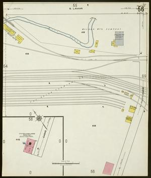Primary view of object titled 'Dallas 1921 Sheet 56'.