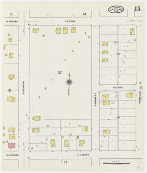 Primary view of object titled 'Eastland 1920 Sheet 15'.